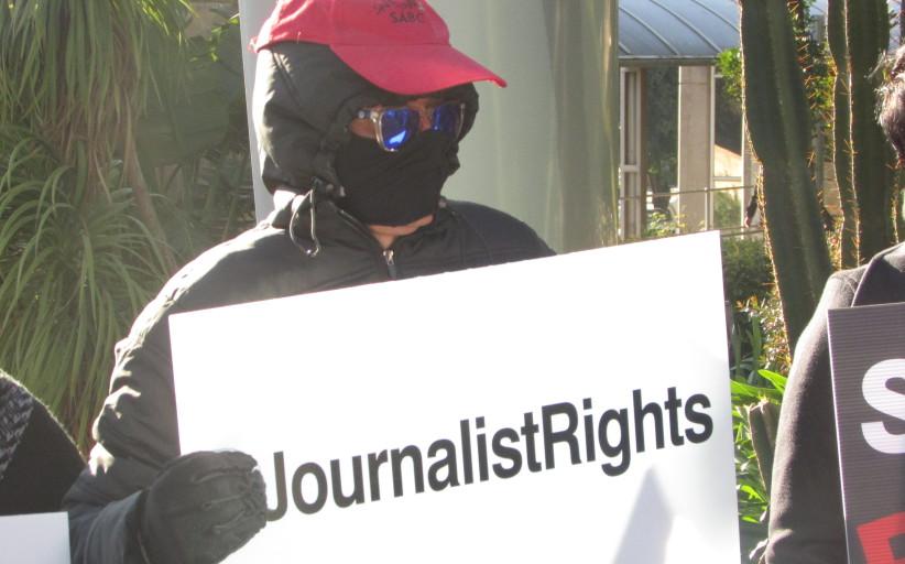 Journalists, civil society rally around SABC 8