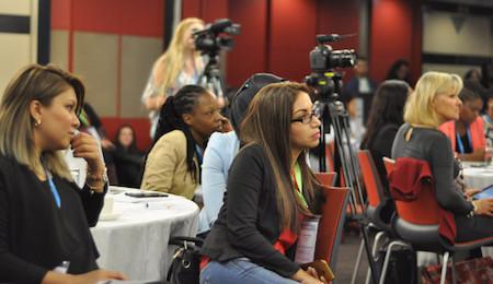 Dark day for female newsmakers