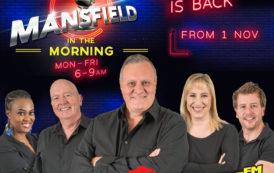 Jeremy Mansfield back in the breakfast 'hot' seat