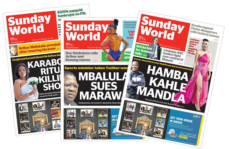 Breaking news: Sunday World sold to Fundudzi Media